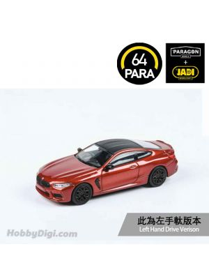 Paragon PARA64 1:64 合金模型車 - BMW M8 Coupe Motegi Red Metallic (左手軚)