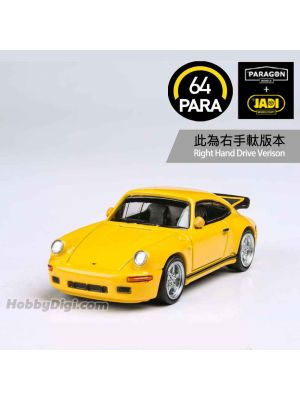 Paragon PARA64 1:64 合金模型車 - RUF CTR Yellowbird 1987 - Yellow (右手軚)