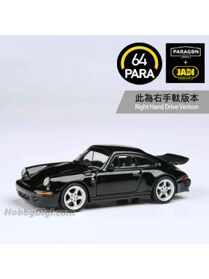 Paragon PARA64 1:64 合金模型車 - RUF CTR Yellowbird 1987 - Black (右手軚)