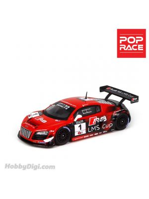 POP Race 1:64 Diecast Model Car - AUDI R8 LMS ULTRA Macau GT Cup 2013 Edoardo Mortara #1