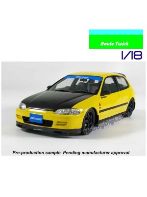 Route Twisk 1:18 Resin Model Car - Spoon Civic SiR EG6 Full Carbon Spec