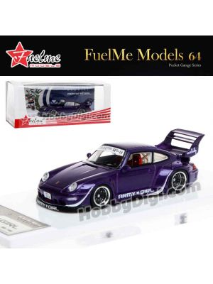 "FuelMe 1:64 Limited Resin Model Car - RAUH-Welt BEGRIFF RWB993 ""ARMY GIRL"" Ver.3"