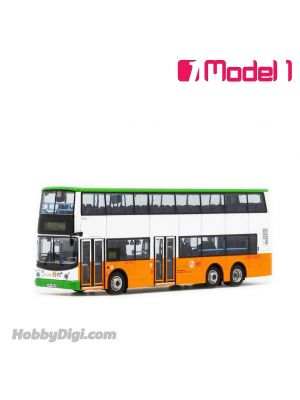 Model 1 1:76 Diecast Model Car- New World First Bus Volvo Super Olympian 12m - 5052 rt. 948 Cheung Wang Estate