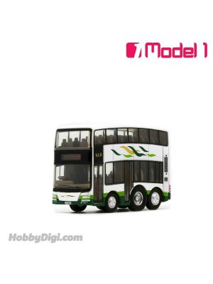 Model 1 Qbus Diecast Model Car - New Lantao Bus MAN A95 12m - MD01 rt. 38 Yat Tung Curcular