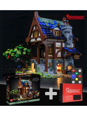 Briksmax 專用燈光組件 +LEGO Ideas 21325  : Medieval Blacksmith (Bundle Set)