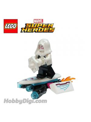 LEGO Loose Machine and Minifigure Marvel : Ghost Spider with Jockpit
