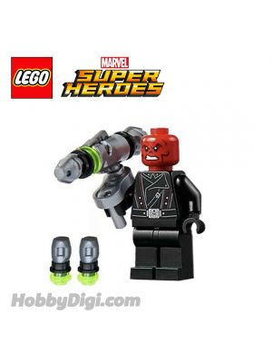 LEGO 散裝人仔  Marvel : Red Skull with Black Belt