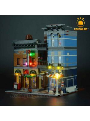 Lightailing Light Kit For LEGO Creator 10246 : Expert Detective's Office