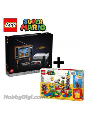 LEGO Super Mario 71374 | 71380:  Nintendo Entertainment System | Master Your Adventure Maker