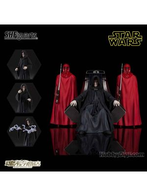 [JP Ver] Bandai S.H.Figuarts Tamashii Web Shop Exclusive: Emperor Palpatine - Death Star II Throne Room Set (Star Wars:Return of the Jedi)