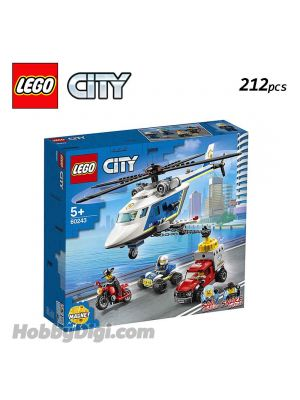 LEGO City 60243: Police Helicopter Chase