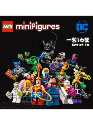 LEGO Minifigures 71026: DC Comics series 一套16隻
