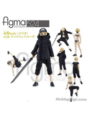 Max Factory Figma – No 524 Female Body (Yuki) with Techwear Outfit