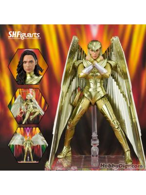 Bandai S.H.Figuarts Tamashii Web Shop Exclusive Action Figrue: Wonder Woman Golden Armor