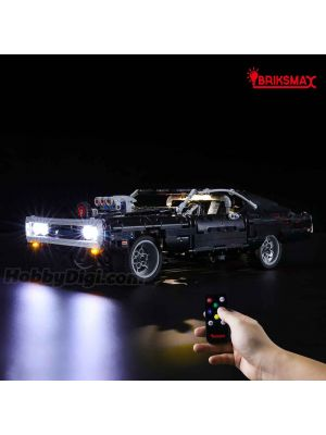 Briksmax Light Kit For LEGO Technic 42111 : Dom's Dodge Charger