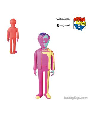 Medicom Toy (VCD) Vinyl Collectible Dolls 模型 - 安迪華荷Andy Warhol (Silkscreen Variant 2020 Ver.)