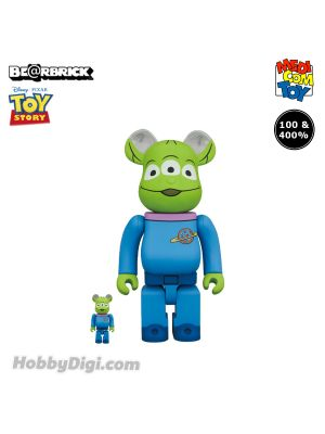 Medicom Toy Be@Rbrick - 三眼仔 100% & 400%《反斗奇兵Toy Story》