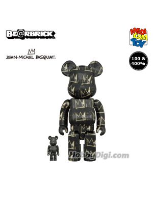 Medicom Toy Be@Rbrick - Jean-Michel Basquiat #8 100% & 400%