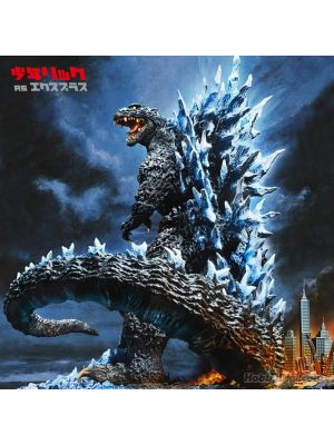 [JP Ver.] X-Plus Yuji Sakai Best Works Selection PVC Statue:  Godzilla(2004) Poster Version