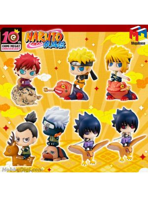 Megahouse Petit Chara Land PVC Figure - Naruto: Shippuden New Color! Summoning Technique Believe It! (Box of 8)