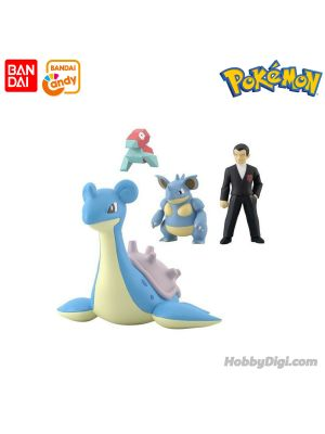 Bandai Candy - Pokemon Scale World Kanto Sylph Company Set W/o Gum