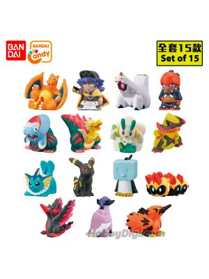 Bandai Candy - Pokemon Kids Mezase Masters Eight Hen (Set of 15)