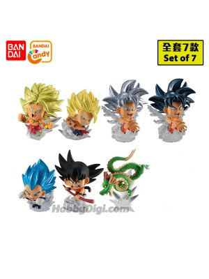 Bandai Candy - Dragon Ball Chyosenshi Figure Vol.5 (Set of 7)