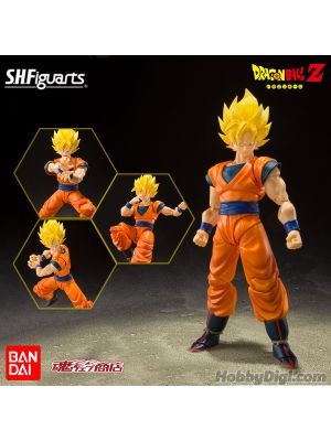 Bandai S.H.Figuarts Action Figrue: Super Saiyan Full Power Son Goku