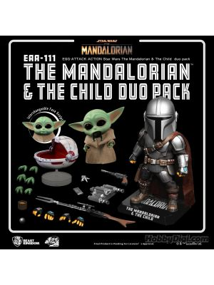 Beast Kingdom Egg Attack EAA-111 - The Mandalorian & The Child Duo Pack