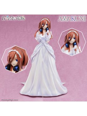 Hobby Japan 1/7 PVC Figure - Miku Nakano (Wedding Dress Ver.)