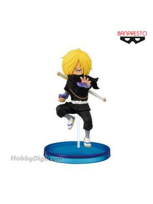 Banpresto WCF Figure - One Piece Wanokuni Style Vol.2 Sanji