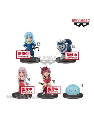 Banpresto WCF Figure - That Time I Got Reincarnated As A Slime World Collectable Figure Vol.1 (Set of 5)