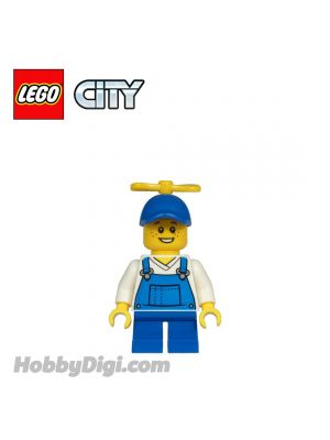 LEGO Loose Minifigures City : Boy with Cap