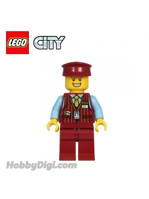 LEGO Loose Minifigures City : Tram Driver