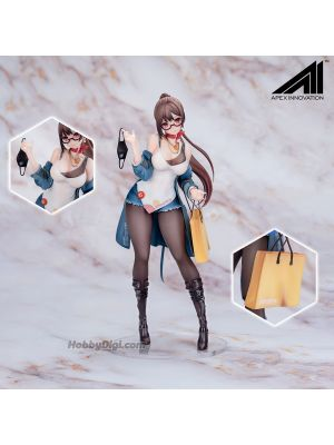 Apex x Mihoyo PVC Statue - XiaMi 4th Anniversary At First Sight (Blue Ver.)