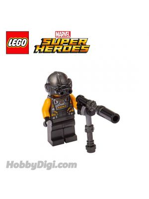 LEGO Loose Minifigure Marvel : AIM Agent with Gun