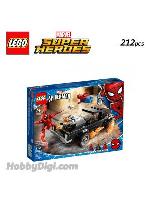 LEGO Marvel Superheroes 76173 : Spider-Man and Ghost Rider vs. Carnage