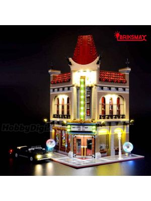 Briksmax Light Kit For LEGO Creator 10232 : Palace Cinema