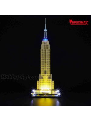 Briksmax 專用燈光組件 LEGO Architecture 21046 : Empire State Building