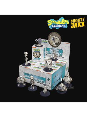 Mighty Jaxx Freeny's Hidden Dissectibles Vinyl Toy - SpongeBob Wave 2 Assortment Box of 12