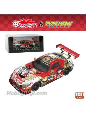 Good Smile Racing 1:64 Diecast Model Car - GOODSMILE RACING & TYPE-MOON RACING 2019 SPA24H Test Day Ver.