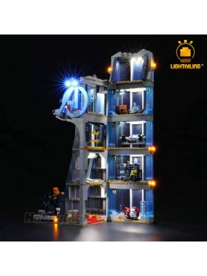 Lightailing 專用燈光組件 LEGO Mavel 76166 : Avengers Tower Battle