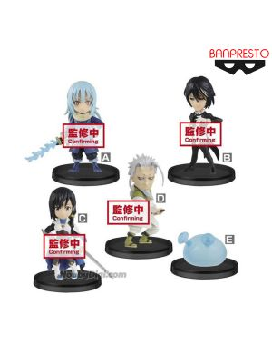 Banpresto WCF Figure - That Time I Got Reincarnated As A Slime World Collectable Figure Vol.3 (Set of 5)