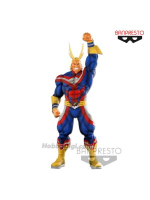 Banpresto SMSP Figure - World Figure Colosseum Modeling Academy The All Might (Brush Ver)