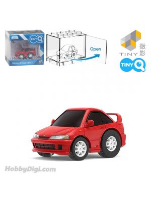 Tiny Q Pull Back Diecast Model Car - Honda Integra DC2 (Red)