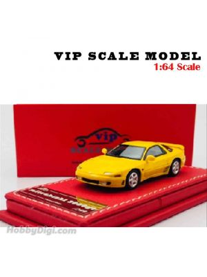 VIP SCALE Model 1:64 Model Car - Mitsubishi 3000GT. Yellow