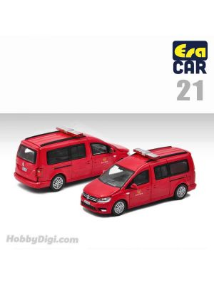 Era Car 1:64 合金車 - 21 Volkswagen Caddy Maxi Fire Command Vehicle (初回特別版)
