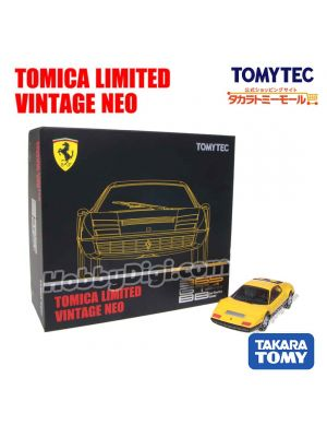 [JP Ver.] TOMYTEC Tomica Limited Vintage NEO Tomica Mall  Limited Diecast Model Car - Ferrari 365 GT4 BB (Yellow/ Black)