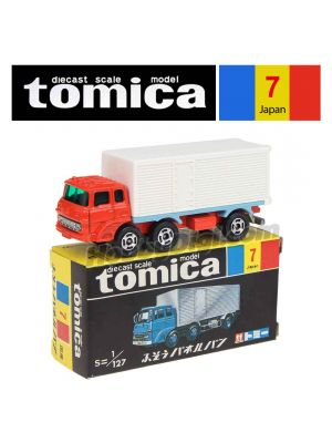 Tomica Retired Black Box Made in Japan Diecast Model Car No7 - Fuso Panel Van
