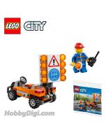 LEGO City Polybag 30357: Road Worker